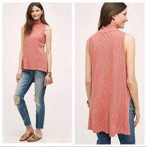 Left of Center Anthro High-Low Turtleneck Tunic